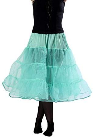 BellaSous Tea Length Multi Layered Petticoat