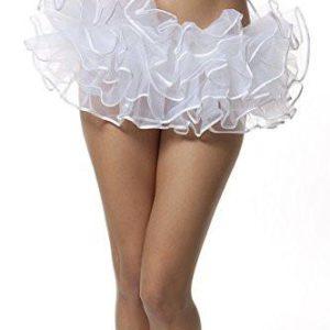 BellaSous Organza Tutu Skirt With Binding