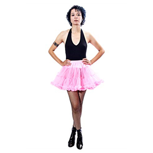 BellaSous Luxury Adult Sexy Tutu Skirt - Hot Pink